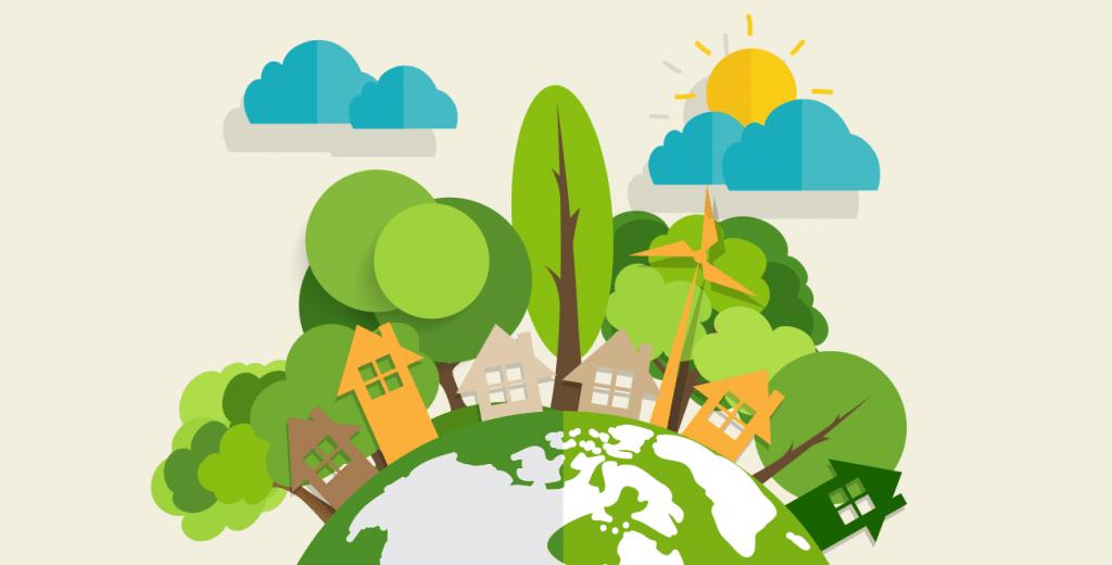 El medio ambiente ilustrado